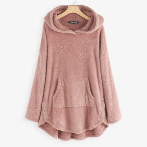 Hoodies Pullovers Women Sweatshirt Spring Autumn Long-Sleeve Girl Winter Casual Solid