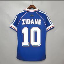 Retro 1998 Zidane Henry Vintage Jersey Classic Shirt