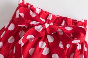 Костюм в горошек для маленьких девочек, Детский костюм на день рождения, комбинезон, топ, шорты, штаны, Одежда для младенцев 12M, 24M, 3 предмета