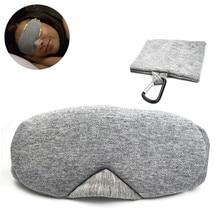 XD-EM3 Cotton Shade Eye Mask Sleeping Eye Mask Breathable Unisex Eye Patch Camping Travel Portable Sleeping Blindfold Sleep Rest