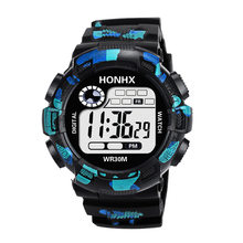 Outdoor Sports Men Digital Watch Multifunctional Waterproof Electronic Watches Mens LED Display Date Alarm Military Clocks Gift(China)
