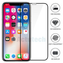 99D Tempered Glass For iPhone X XR XS MAX Protective Glass Full Cover Screen Protector For iphone 7 8 6 6s Plus Protector Glass 99d full cover for apple iphone 7 screen protector 11 pro se 2020 8 tempered glass for iphone xr x xs max 6 6s plus 5 5s glass