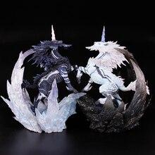 Monster Hunter World MHW XX Белый Единорог ледяной Единорог фигурка коллекция декоративные детские игрушки подарок