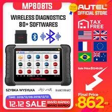Autel MaxiPRO MP808TS OBDII Автомобильный диагностический инструмент OBD2 сканер OBD 2 код ридер как DS808 добавить TPMS Функции PK MS906