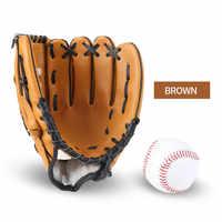 Neue Tragbare Baseball Handschuhe Dunkelbraun Durable Männer Softball Handschuh Sport Spieler Preferred 12,5/11,5/10,5 zoll
