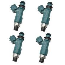 4ชิ้น/เซ็ตหัวฉีดเชื้อเพลิงหัวฉีดสำหรับSuzuki SX4 2.0L L4 2007 2008 2009 15710 65J00 1571065J00