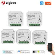 Tuya ZigBee 3.0 Tuya Smart Life Curtain Switch Module for Roller Shutter Blind Motor for Alexa Google Home App Control DIY Tool