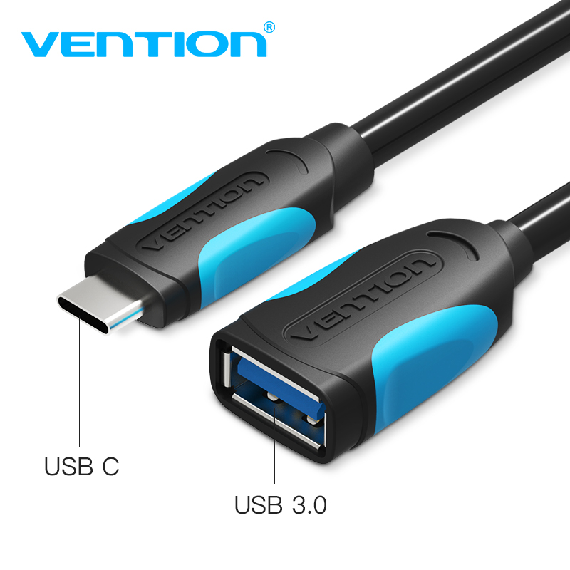 Vention USB C To USB Adapter Type C OTG Cable USB C Male To USB 3.0 A Female Cable Adapter For MacBook Pro Samsung S9 USB-C OTG