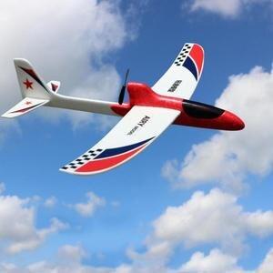 Planador flexível de pouco peso durável da espuma do epp do avião do lance da mão da manobra elétrica para crianças ao ar livre livre-voando avião