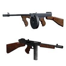 1:1 Томпсон м1928 пистолет DIY 3D бумажная карточка модель строительные наборы строительные игрушки развивающие игрушки Военная Модель