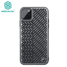 NILLKIN Herringbone Case For Apple iPhone 11 2019 Reflective Polyester Waterproof Phone Cover Pro Max