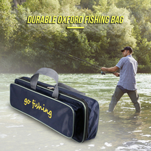 Waterproof Fishing Rod Bag Two Layer Fishing Rod Carrier Pol
