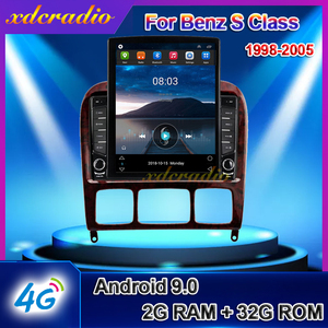Xdcradio 10.4 INCH Tesla Style Vertical Android 9.0 For Benz S Class W220 S280 S320 S350 S400 S430 S500 S600 S55 AMG Car Radio