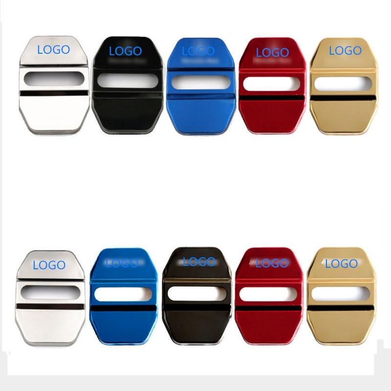 4PCS/Set Car Door Lock Protective Cover For Mercedes-Benz Mercedes-Benz C-Class E-Class GLA-Class Import S-Class Door Lock Cover