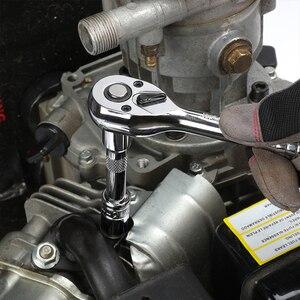 Image 5 - WORKPRO conjunto de herramientas de reparación de automóviles, kit de herramientas mecánicas, destornilladores, llaves inglesas de carraca, enchufes, 123 piezas