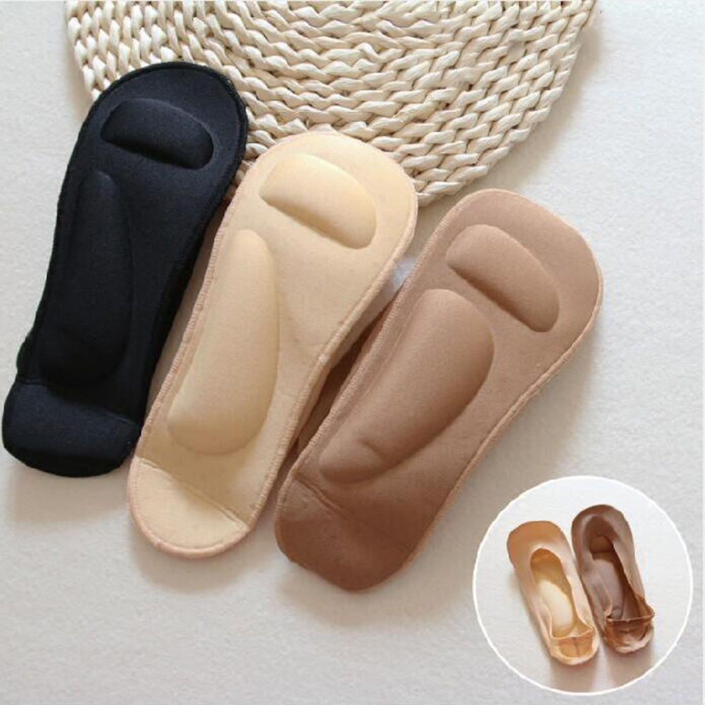 Модные женские нескользящие невидимые короткие носки унисекс с противоскользящей подкладкой, Дышащие Короткие носки с низким вырезом