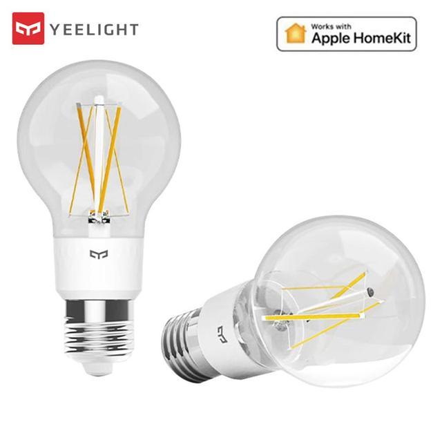 Yeelight Smart LED Filament Bulb E27 Brightness Adjustable Energy Saving Smart Bulb For Smart Home APP Apple Homekit