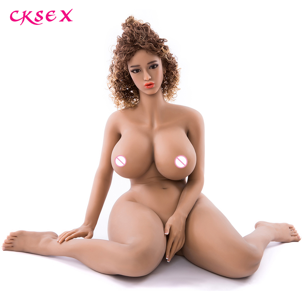 CKSex Big Breast Tits TPE Sex Doll For Men 4D Realistic Vagina Anal With Soft Real Touch Sexy Feeling Fat Ass Silicone Love Doll