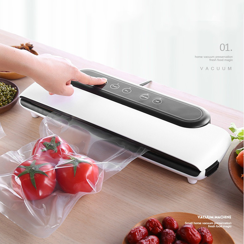 Food vacuum preservation machine meat household vacuum packaging machine plastic bag automatic plastic sealing machine
