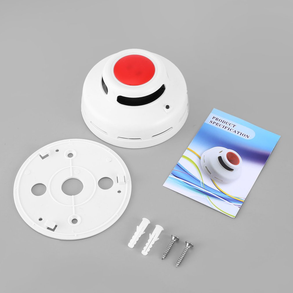 JKD-516 Smoke Tester Secure Alarm System Fire Protection Alarm Detector