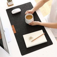 Large Size Computer Gamer Table Mat Non-slip Felt Laptop Cushion Desk Mat Keyboard Mat Large Gaming Mouse Pad Office Accessories