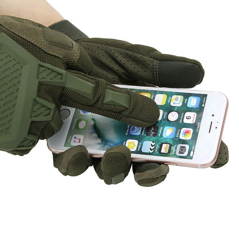 Tela GlovesTouch tático Militar Do Exército Airsoft