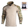 Tactical Combat Shirt Military Uniform Us Army Clothing Tatico Tops Airsoft Multicam Camouflage Hunting Fishing Clothes Mens