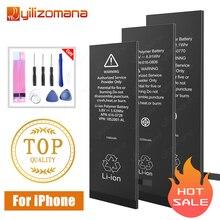 YILIZOMANAเดิมแบตเตอรี่โทรศัพท์มือถือสำหรับiPhone 5 5s 6 6S 7 8 Plusเปลี่ยนแบตเตอรี่สำหรับIPhoneSE X XR XS 11 Pro Max Bateria