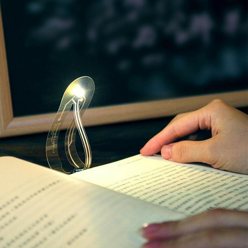 Bookmark With Lamp Led-Light For Reading-Book Creative Portable Small Mini