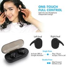 Kowkaka Y30 Wireless Headphones TWS Bluetooth 5.0 Earphone HiFi IPX5 Waterproof Earbuds Touch Control Headset For Sports/Game