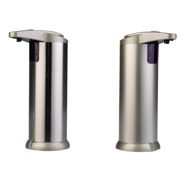 Cool Automatic Liquid Soap Dispenser 2019 Touch free Sanitizer Built in Infrared Smart Soap Sensor Bathroom Soap Dispenser Hot