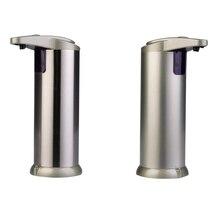 מגניב אוטומטי נוזל סבון Dispenser 2019 מגע משלוח Sanitizer אינפרא אדום מובנה חכם סבון רחצה חיישן סבון Dispenser חם