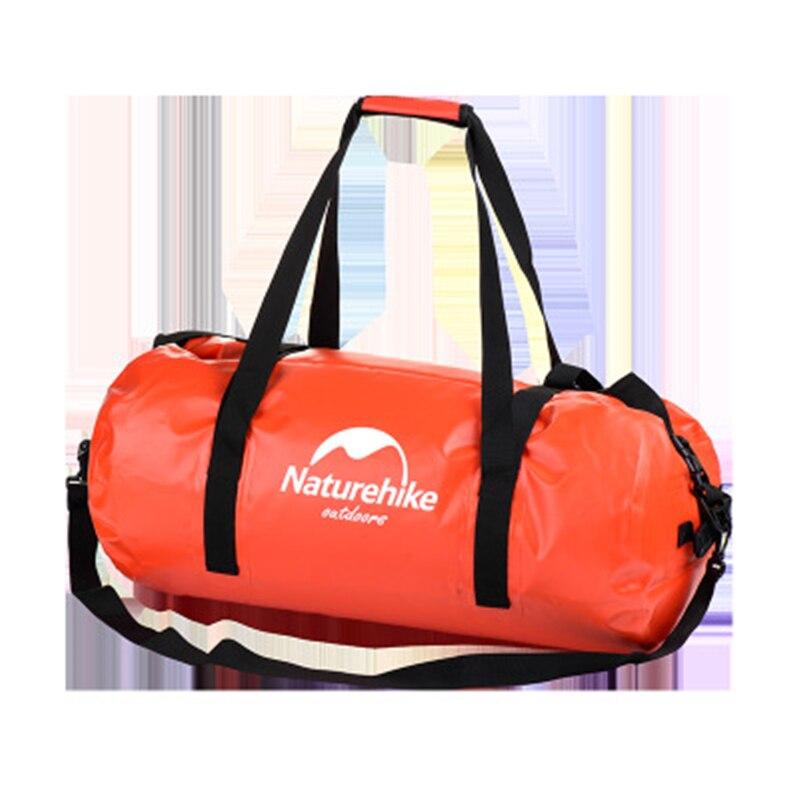 Naturehike Waterproof Bag Dry Bag 500D PVC River Trekking Bag 40/60/90/120L Large Capacity Storage Bag Swimming Drifting