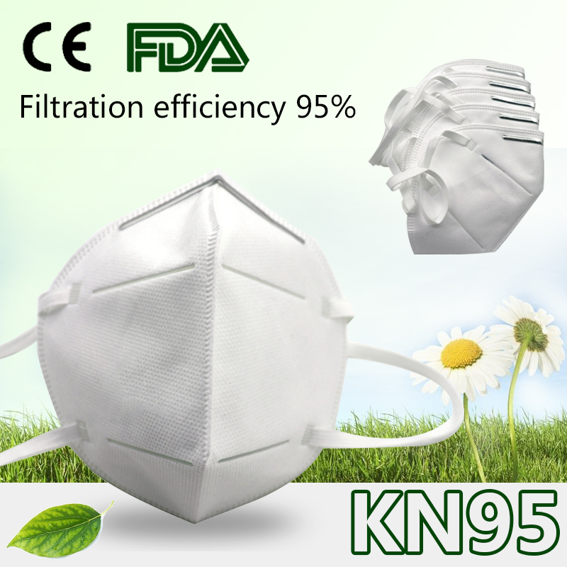 KN95 Breathing Safety Mask Disposable Mask Face Mouth Masks Anti 