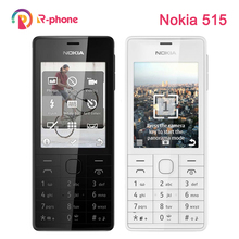 Refurbished Original NOKIA 515 5MP 2.4 Single Dual Sim Card Mobile Phone Unlocked