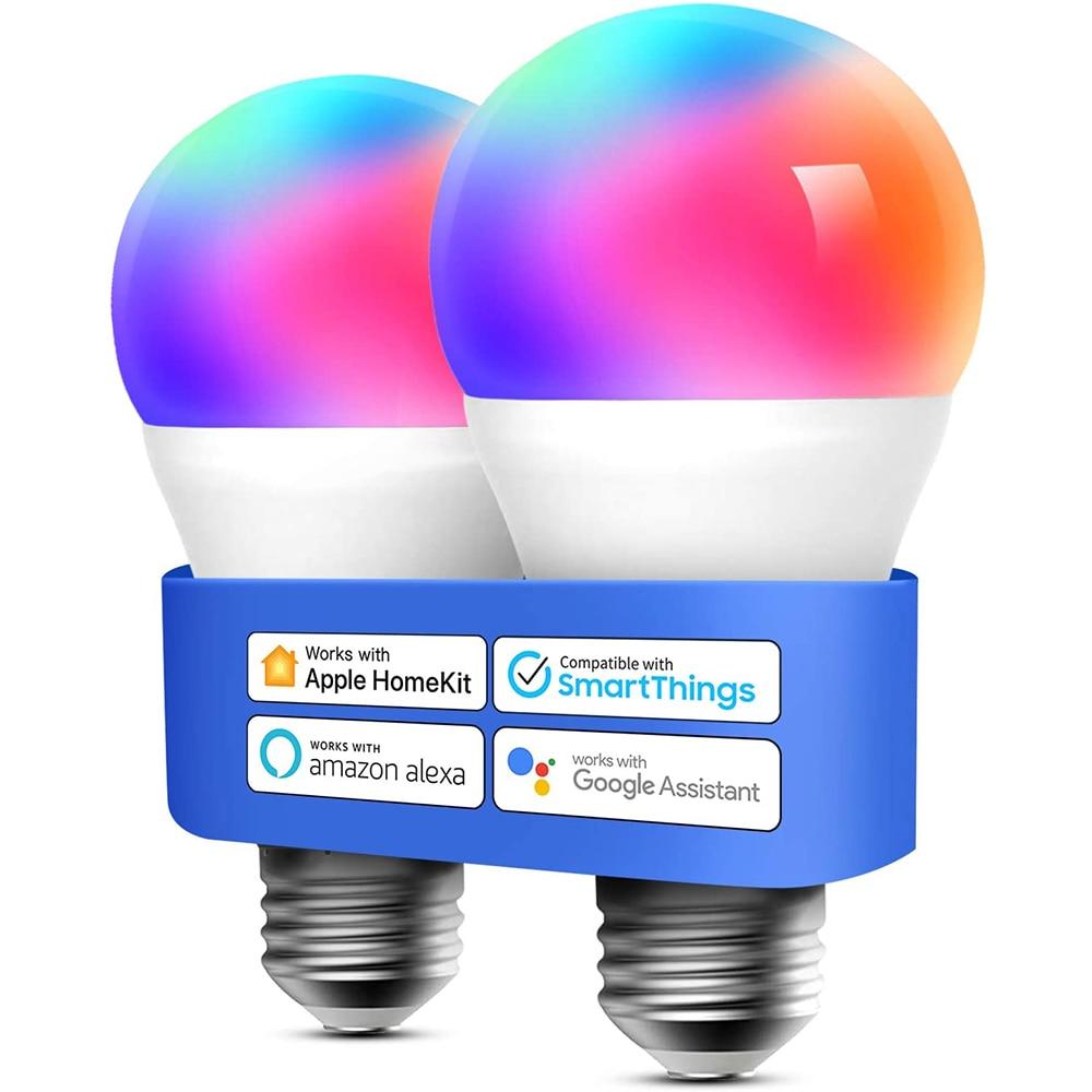 Беспроводной Bluetooth 4,0 Смарт RGB светильник лампа для дома светильник ing светильник светодиодный WI-FI или ИК Управление волшебный светильник на...