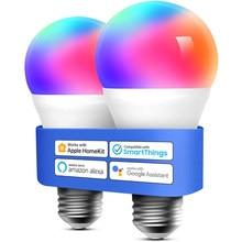 Sem fio bluetooth 4.0 inteligente rgb lâmpada de iluminação para casa lâmpada led wifi ou ir controle magia lâmpada regulável ios/android