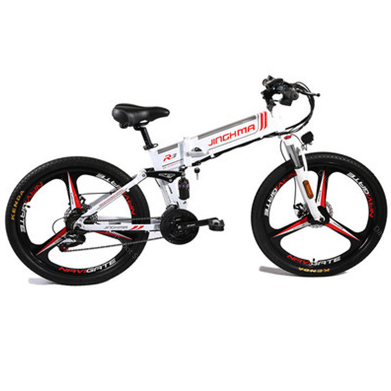 Electric Mountain E Bike Bicycle 2 Wheels Electric Bicycles 800W 48V Folding Powerful Electric Bike For Adults