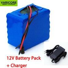 Varicore 12 v 30ah 3s12p 60a bms 500 와트 11.1 v 12.6 v 고전력 리튬 배터리 팩 (인버터 크세논 램프 용) solar street + 12.6 v