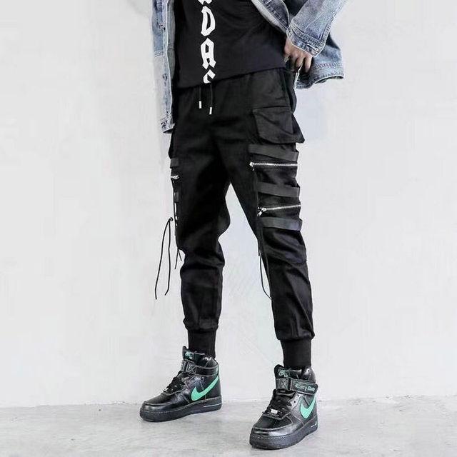 Мужские штаны с боковыми карманами  5