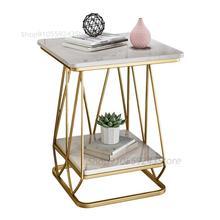 Light Table Side-Table-Corner Luxury Sofa Marble Bedside Minimalist Small Modern Living-Room