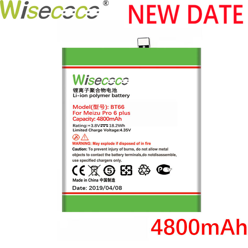 Wisecoco Produced-Battery M686q-Phone 6-Plus For Mei Zu High-Quality
