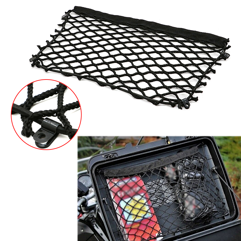 For BMW Luggage Storage Cargo Mesh Nets for top case panniers R1250GS R1200GS R700GS R850GS F800GS R 1200 GS F650 F700 F750 GS