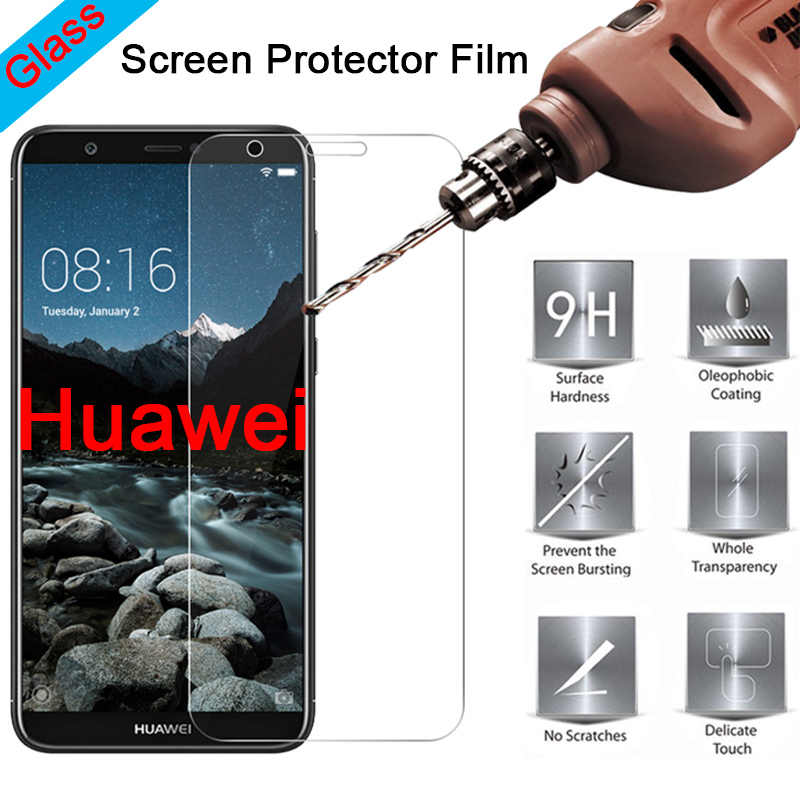 Tempered Glass Toughed Protective Glass for Huawei P30 Mate 20 Lite P20 Pro P7 P6 9H HD Screen Protector on Huawei P Smart Plus
