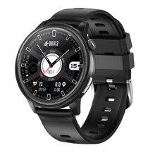 24h temperatura do corpo ecg ppg relógio inteligente homem pressão arterial oxigênio monitor de freqüência cardíaca smartwatch feminino esporte à prova dwaterproof água pulseira