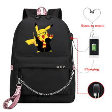 New casual backpack lady backpack, travel laptop girl with USB charging