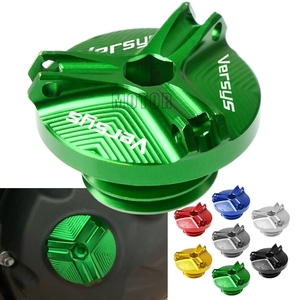 For Kawasaki Versys650 07-17 Versys1000/ABS 10-17 Motorcycle Accessories Engine Oil Cup Cover Oil Fill Cap Plug Versys 650/1000