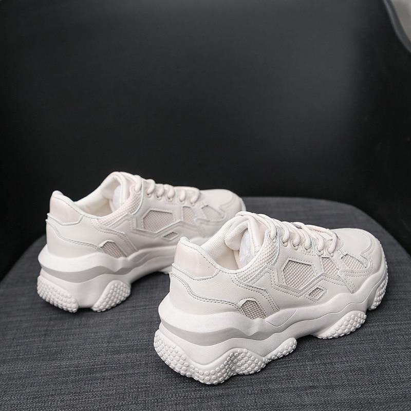 2020 Spring New Wild Lightweight Platform Sneakers Women Running Casual Women's Sports Shoes Running Shoes ZZ-272