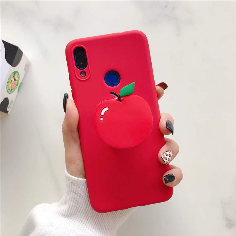 3D Cartoon Holder Stand Phone Case For Samsung Galaxy S8 S9 Plus S10 Lite S10E 5G Note 8 9 10 Pro S6 S7 Edge Cover Cases Coque