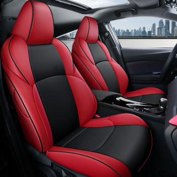 Custom car Seat Covers leather for TOYOTA C-HR IZOA  chr Car Seat Covers for Cars Accessories auto accessories cover  styling